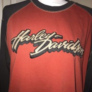 Alamo city Harley Davidson Long Sleeve Shirt